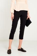 Elisabetta Franchi | Черные брюки с завязками | Clouty