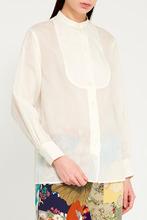 GUCCI   Свободная белая блузка   Clouty
