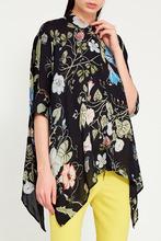 GUCCI   Блузка с цветочным принтом   Clouty