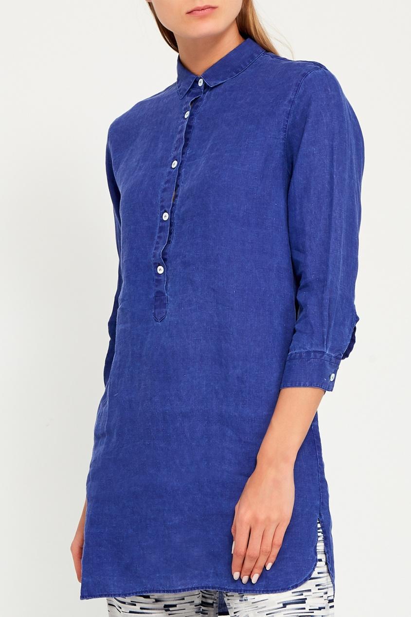 0e4cf0ec041 Длинная льняная блузка 215874675 - цена 8100 руб.