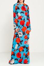 MSGM | Платье с цветочным принтом | Clouty