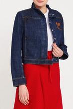 Courrèges | Джинсовая куртка с логотипом | Clouty