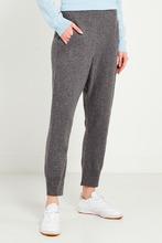 Not Shy | Серые широкие брюки | Clouty