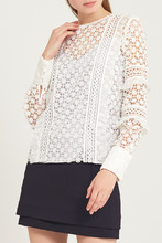 Self-Portrait | Белая ажурная блузка | Clouty