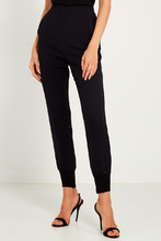 Stella McCartney | Черные брюки-джоггеры | Clouty