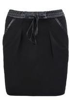 BOSS | Черная юбка-мини с карманами | Clouty