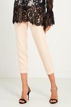 Elisabetta Franchi | Бежевые брюки с лентами | Clouty