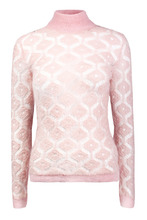 BALMAIN | Ажурный свитер из мохера | Clouty