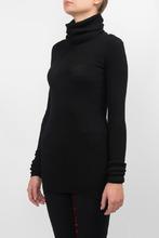 Isabel Marant | Удлиненный черный свитер | Clouty