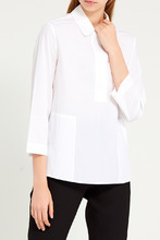 Gerard Darel   Белая хлопковая блузка   Clouty