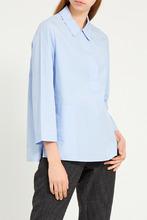 Gerard Darel   Голубая хлопковая блузка   Clouty