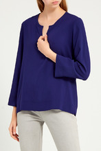 Gerard Darel   Темно-синяя блузка   Clouty
