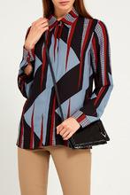 GUCCI   Блузка с геометрическим принтом   Clouty