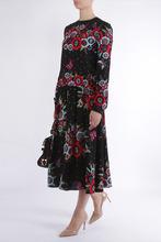 VALENTINO | Платье-миди с ярким принтом | Clouty