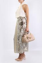 Etro | Бежевая юбка макси с принтом | Clouty