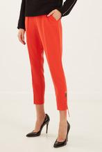 Elisabetta Franchi | Красные брюки со стрелками | Clouty