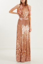 Elisabetta Franchi | Розовое платье с оборками | Clouty