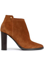 Jimmy Choo | Jimmy Choo Woman Hart Suede Ankle Boots Light Brown Size 39.5 | Clouty