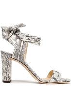 Jimmy Choo | Jimmy Choo Woman Kora Elaphe Sandals Animal Print Size 37 | Clouty