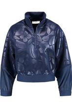 adidas by Stella McCartney | Adidas By Stella Mccartney Woman Run Neoprene And Shell Sweater Navy Size XS | Clouty