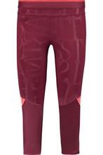 adidas by Stella McCartney | Adidas By Stella Mccartney Woman Run 3/4 Printed Stretch-jersey Leggings Burgundy Size L | Clouty