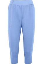 adidas by Stella McCartney | Adidas By Stella Mccartney Woman Cropped Scuba Track Pants Sky Blue Size XS | Clouty