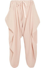 Stella McCartney | Stella Mccartney Woman Crinkled-cotton Pants Blush Size 38 | Clouty