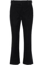 Derek Lam 10 Crosby | Derek Lam 10 Crosby Woman Velvet Flared Pants Black Size 0 | Clouty