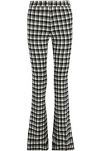 Derek Lam 10 Crosby | Derek Lam 10 Crosby Woman Checked Flannel Bootcut Pants Gray Size 0 | Clouty
