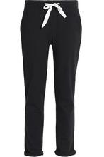 Petit Bateau   Petit Bateau Woman Cotton-blend Jersey Track Pants Charcoal Size XXS   Clouty