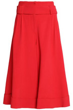 Roksanda | Roksanda Woman Belted Crepe Culottes Red Size 6 | Clouty