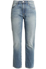 Frame | Frame Woman Le Grand Garcon Mid-rise Boyfriend Jeans Mid Denim Size 27 | Clouty