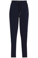 Michael Michael Kors | Michael Michael Kors Woman Stretch-jersey Tapered Pants Navy Size XL | Clouty