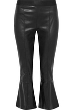 Bailey 44 | Bailey 44 Woman Lupine Faux Leather Kick-flare Pants Black Size S | Clouty