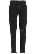 RAG & BONE | Rag & Bone/jean Woman High-rise Straight-leg Jeans Black Size 27 | Clouty