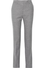 Calvin Klein | Calvin Klein 205w39nyc Woman Houndstooth Wool Straight-leg Pants Dark Gray Size 36 | Clouty