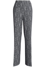 Theory | Theory Woman Knitted Wide-leg Pants Midnight Blue Size L | Clouty