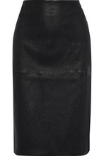 By Malene Birger | By Malene Birger Woman Floridia Leather Pencil Skirt Black Size 32 | Clouty