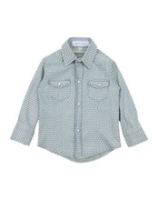 BRIAN RUSH | BRIAN RUSH Джинсовая рубашка Детям | Clouty