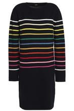 Cheap Prices Reliable Discount Prices Goen.j Woman Ruffled Cotton-ponte Midi Dress Black Size L GOEN.J ZEjX2E