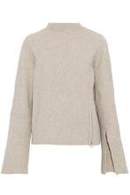 Derek Lam 10 Crosby | Derek Lam 10 Crosby Woman Wool-blend Turtleneck Sweater Mushroom Size L | Clouty