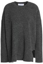 Derek Lam 10 Crosby | Derek Lam 10 Crosby Woman Melange Wool-blend Sweater Charcoal Size L | Clouty