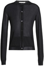 Marni | Marni Woman Silk Cardigan Black Size 42 | Clouty