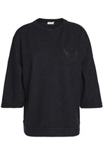 Brunello Cucinelli | Brunello Cucinelli Woman Bead-embellished Cashmere Sweater Black Size S | Clouty