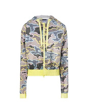 adidas by Stella McCartney | ADIDAS STELLA SPORT ZIP CAMO JACKET Куртка Женщинам | Clouty