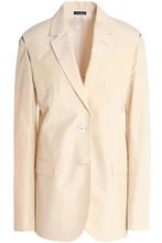 JIL SANDER | Jil Sander Woman Silk Blazer Pastel Yellow Size 40 | Clouty