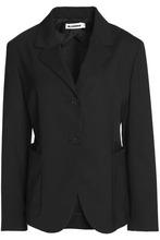 JIL SANDER | Jil Sander Woman Virgin Wool-blend Blazer Black Size 38 | Clouty