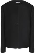 JIL SANDER | Jil Sander Woman Wool-blend Blazer Black Size 42 | Clouty