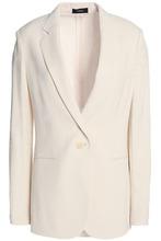 Theory | Theory Woman Crepe Blazer Ecru Size 8 | Clouty