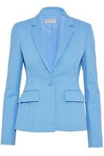 Emilio Pucci | Emilio Pucci Woman Woven Blazer Light Blue Size 40 | Clouty